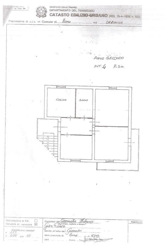 Appartamento a Roma in via dalmine - prima porta labaro - 01