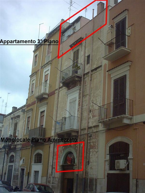 Appartamento Bilocale a Barletta in via pozzo sant'agostino n.17 - centro - 01