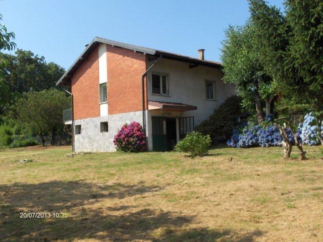 Affitto villetta indipendente con ampio giardino di 2400mq a Borgo Ticino (no)