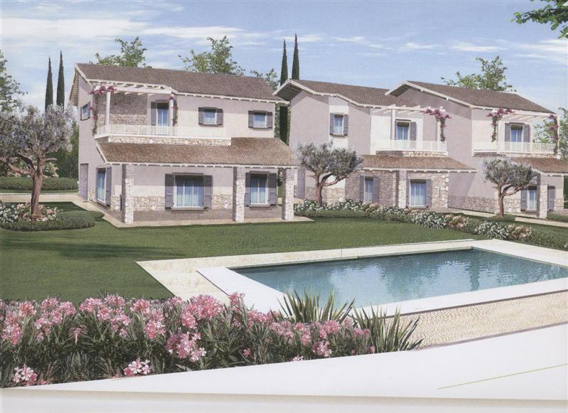 Villa con giardino a Moniga del Garda - centro - 01