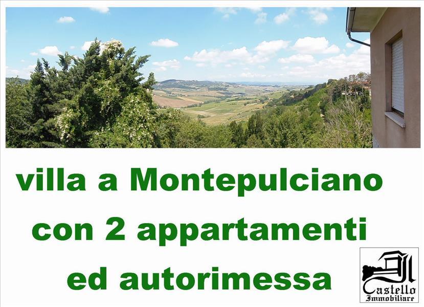 Villa con box doppio in larghezza a Montepulciano - 01