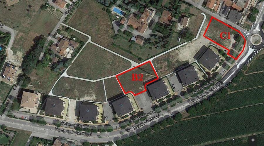 Vende terreno nuovo a Bastia Umbra