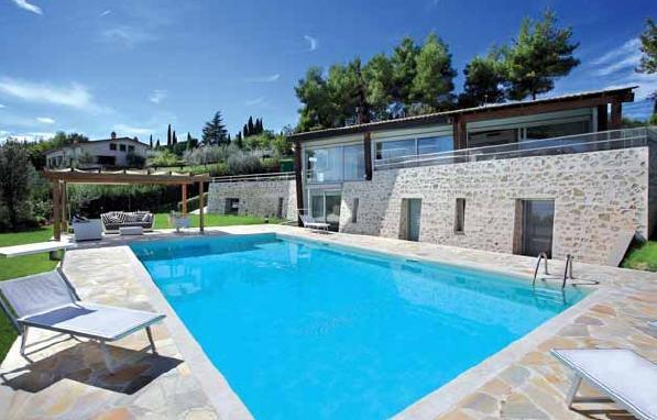 Villa con giardino a Perugia - 01