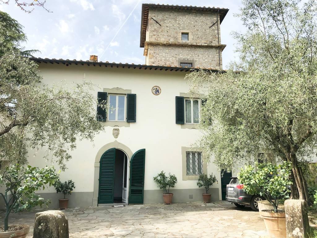 Villa con giardino, Firenze castello