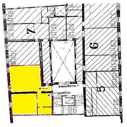 Affitto ufficio Modena centro storico - 01, piantina