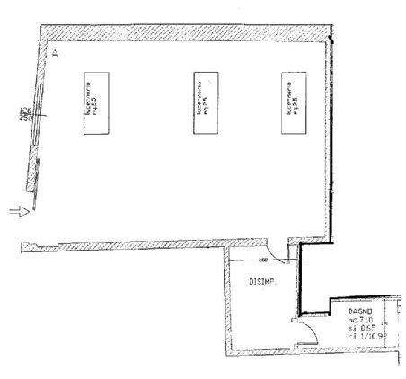 Laboratorio ristrutturato a Modena - sant' agnese - 01, planimetria