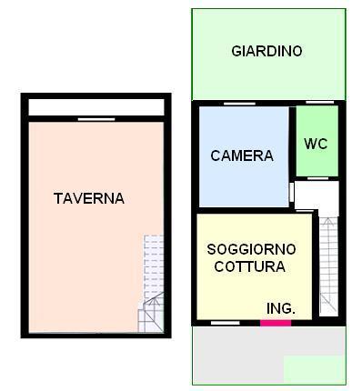 Appartamento Bilocale con giardino a Mirano - 01