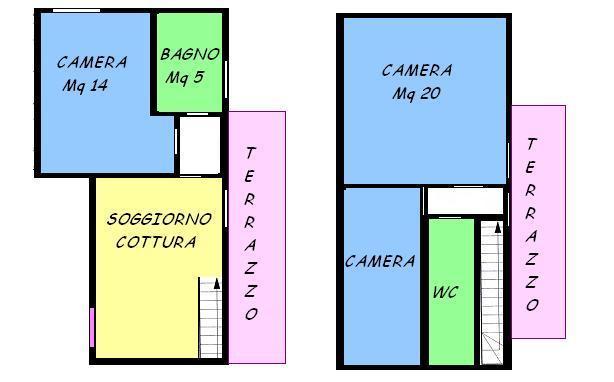 Vendesi appartamento con terrazzo a Mirano - 01