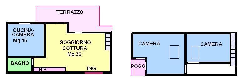 Vendo appartamento con terrazzo a Mirano - 01