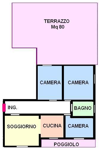 Vendo appartamento con terrazzo a Spinea - 01