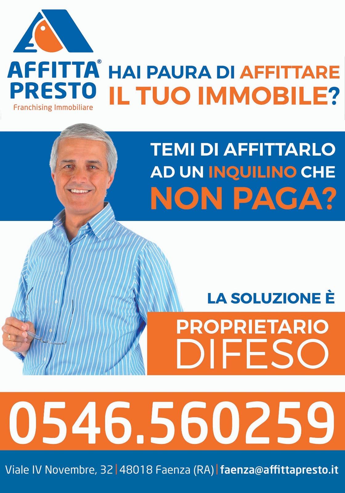 Trilocale in vendita, Faenza porta imolese