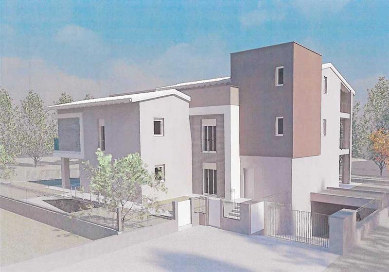 Appartamento con terrazzo via lucio fiorentini Brescia