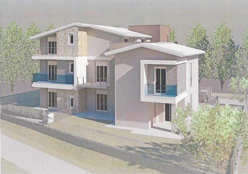 Appartamento con giardino via lucio fiorentini Brescia