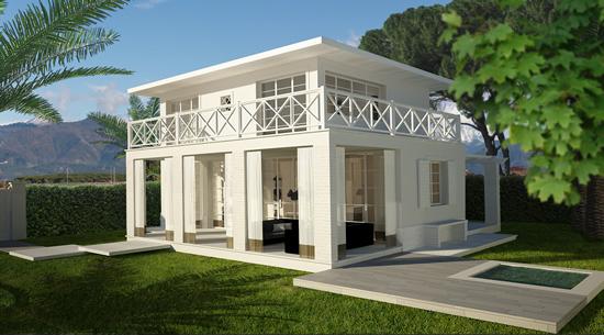 Villa con terrazzo a Forte dei Marmi - caranna - 01