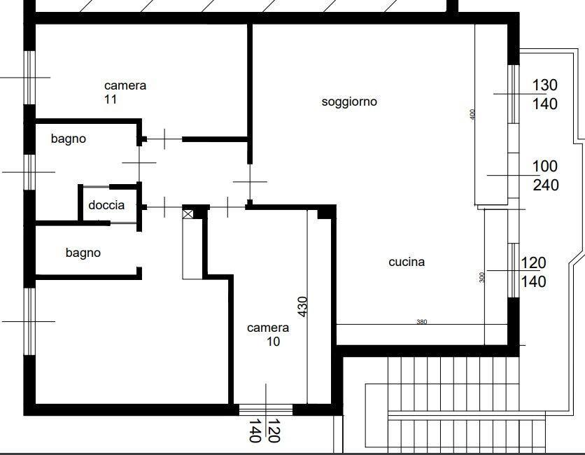 Appartamento a Cecina - san pietro in palazzi - 01