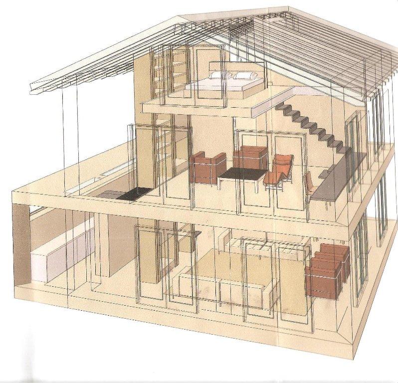 Casa indipendente con giardino a Fosdinovo - 01