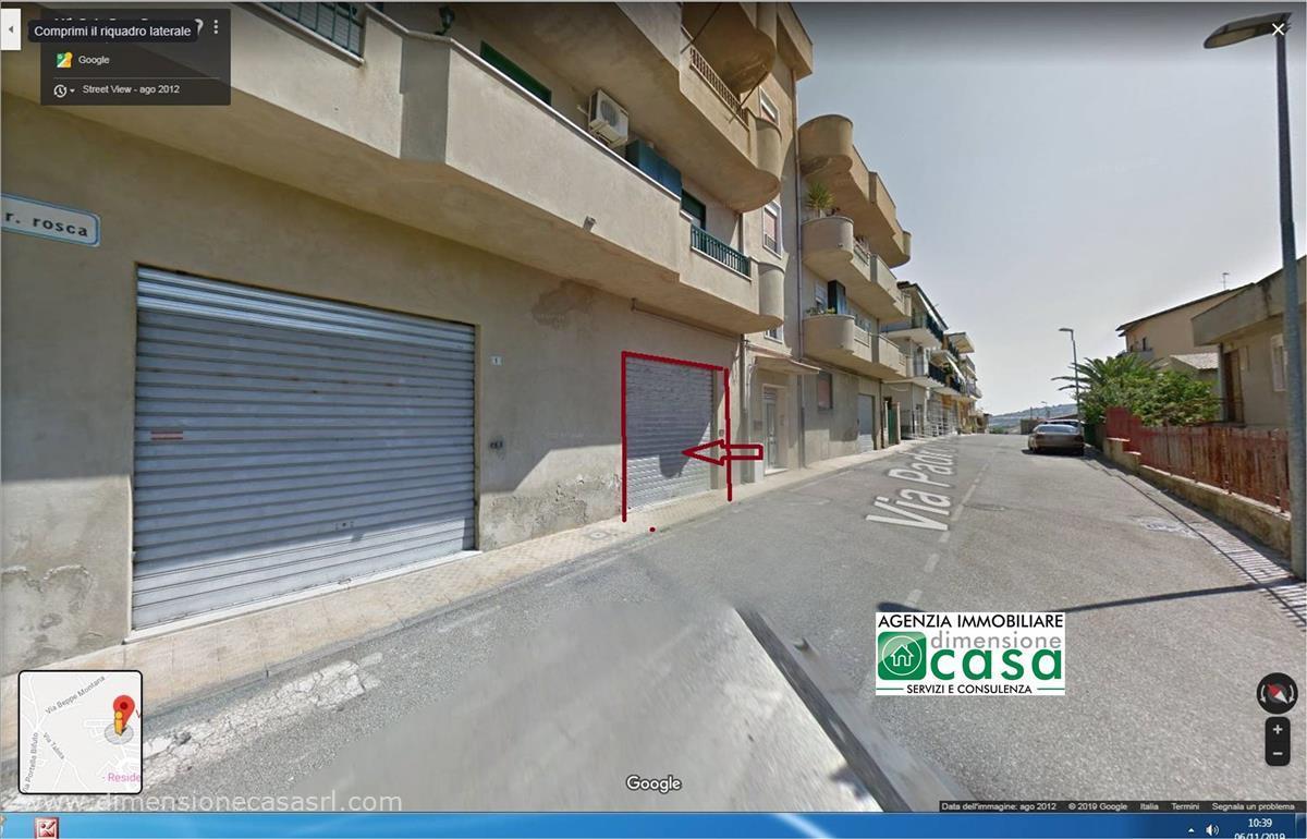 Box/Garage 61mq in affitto a San Cataldo
