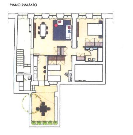 Appartamento con giardino, Mantova centro storico