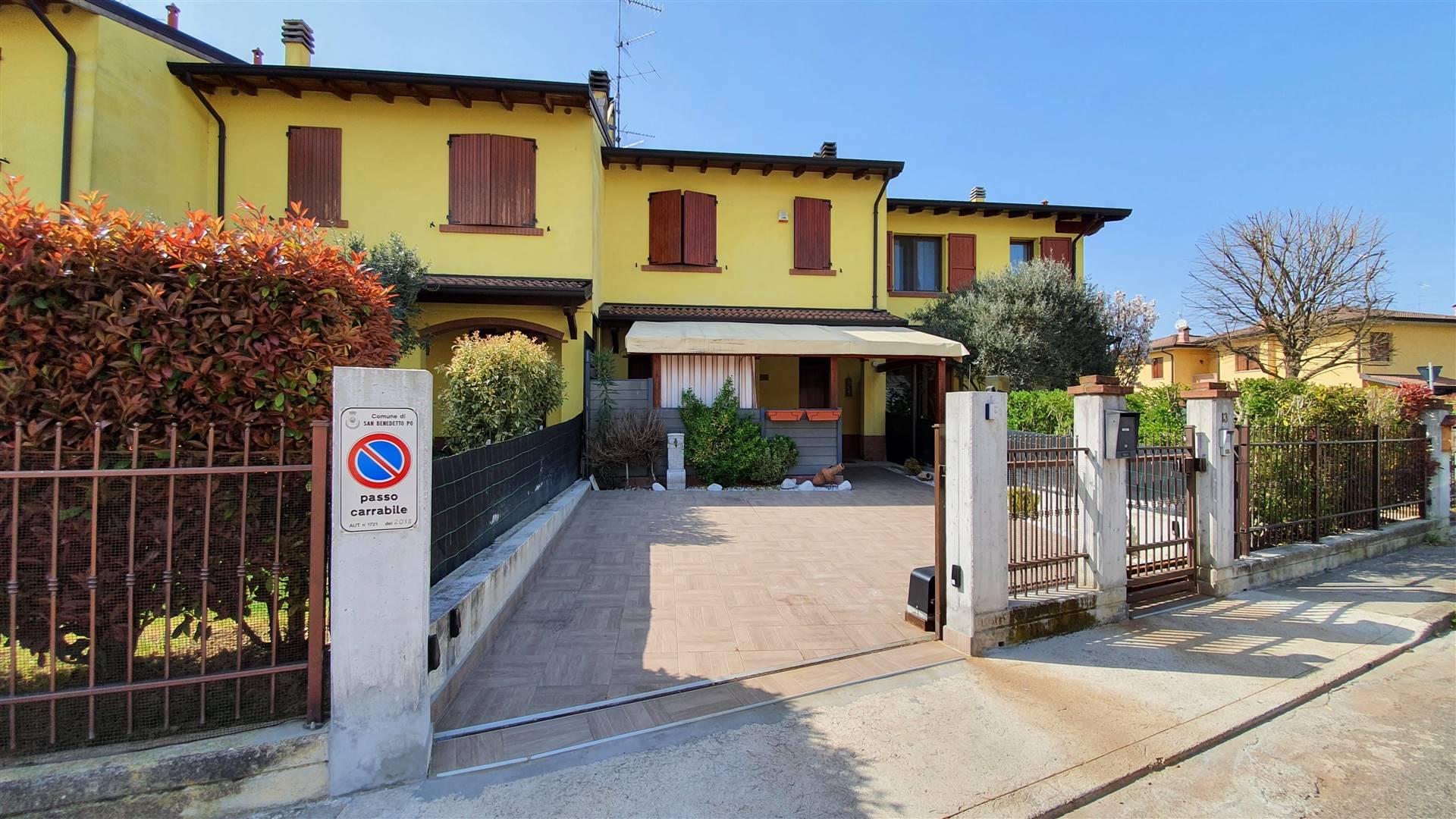 Villa con giardino a San Benedetto Po