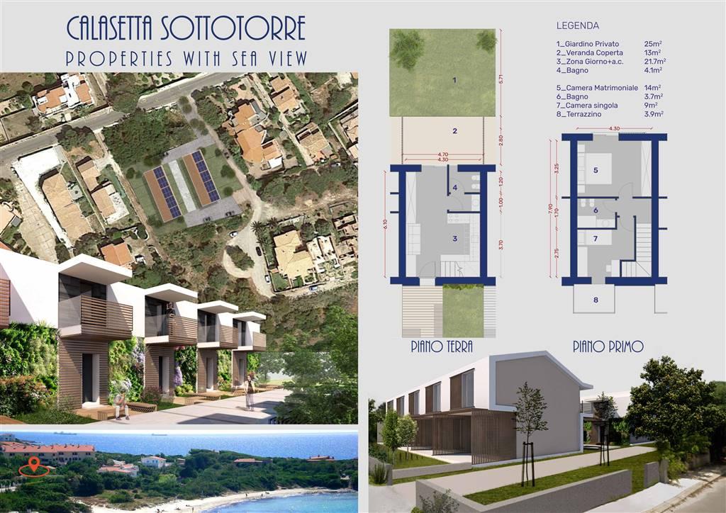 Appartamento con giardino a Calasetta