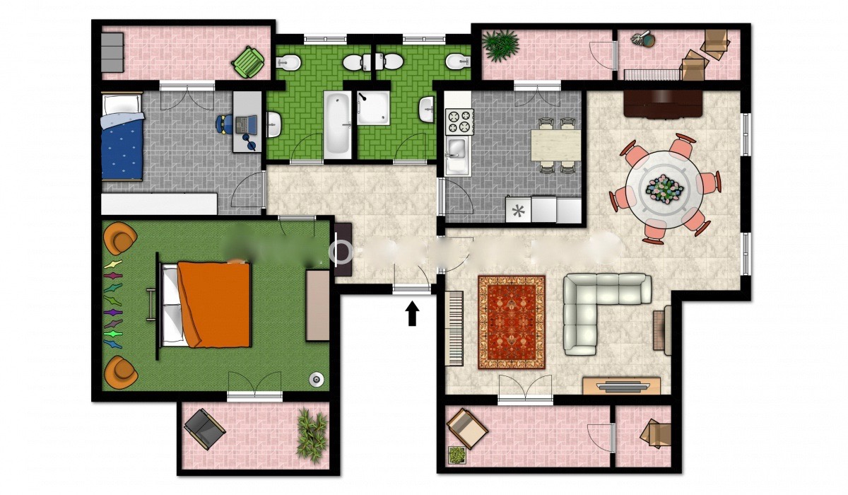 Appartamento a Cusago in via leopardi 4 - centro - 01