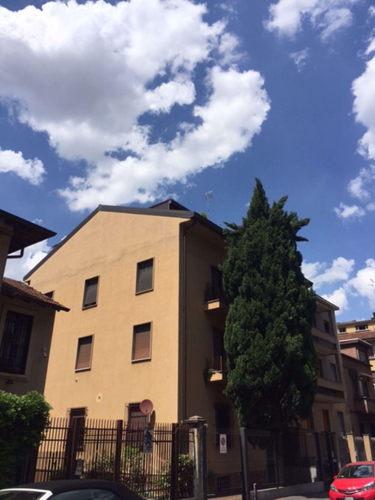 Trilocale con box a Milano