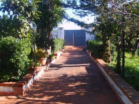 Villa con giardino Marsala lato mazara