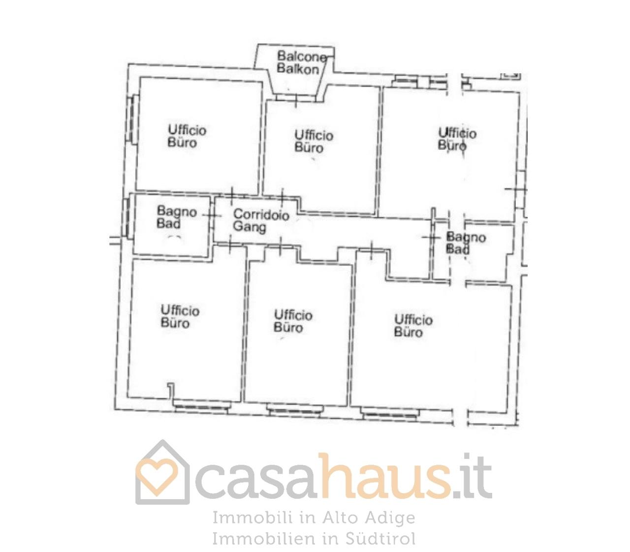 Ufficio in vendita in zone giuseppe-mazzini-platz, Bolzano