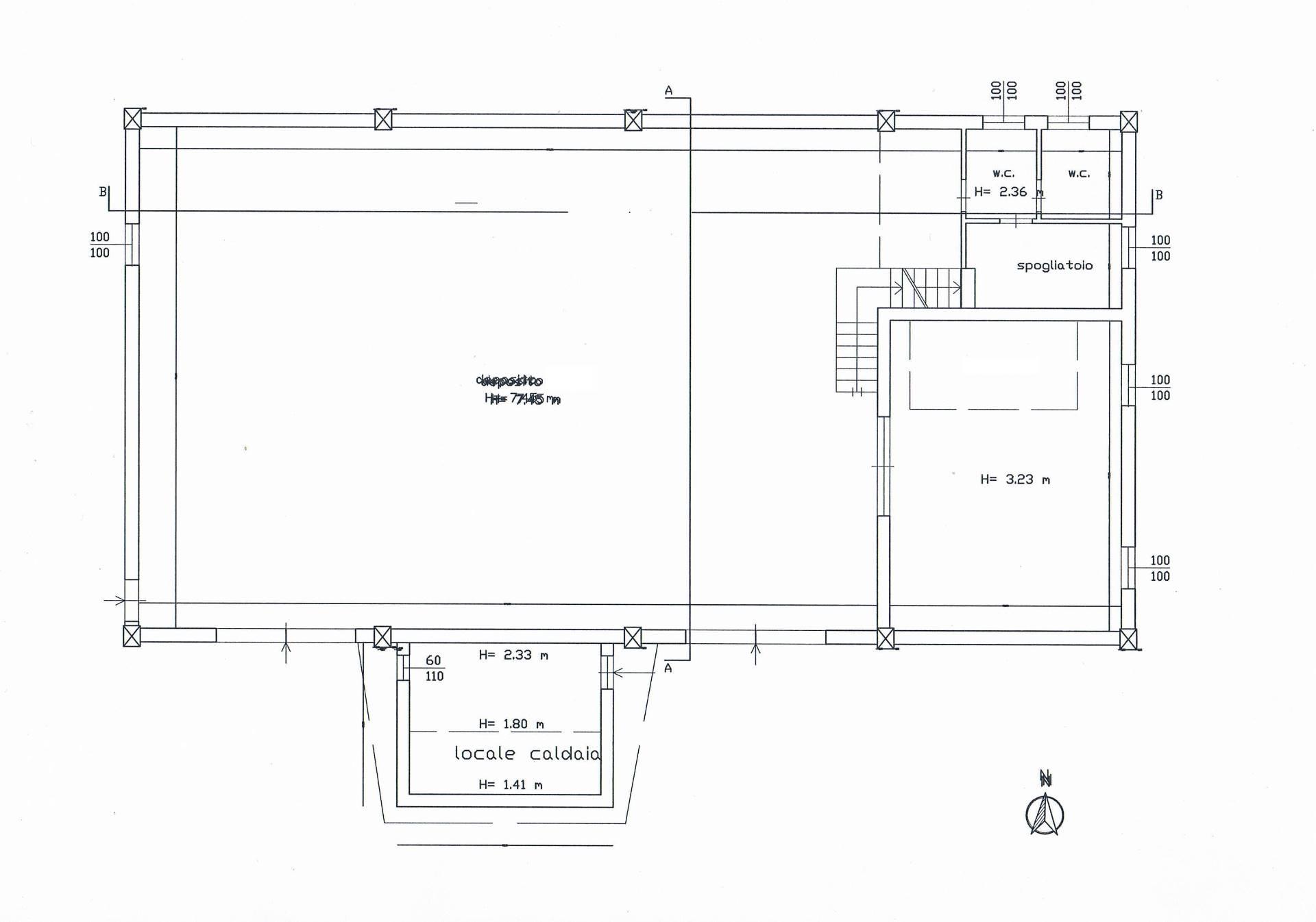 Affitto capannone a Acquasanta Terme