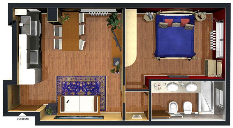 Appartamento Bilocale ristrutturato a Cinisello Balsamo - adiacenze centro - 01, Appartamento n. 2