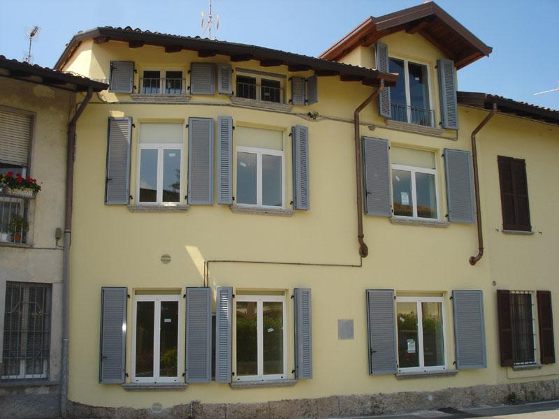 Centro storico Aicurzio bilocale - 01, Facciata