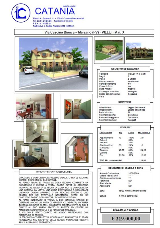 Vendo villa Marzano cascina bianca - 01