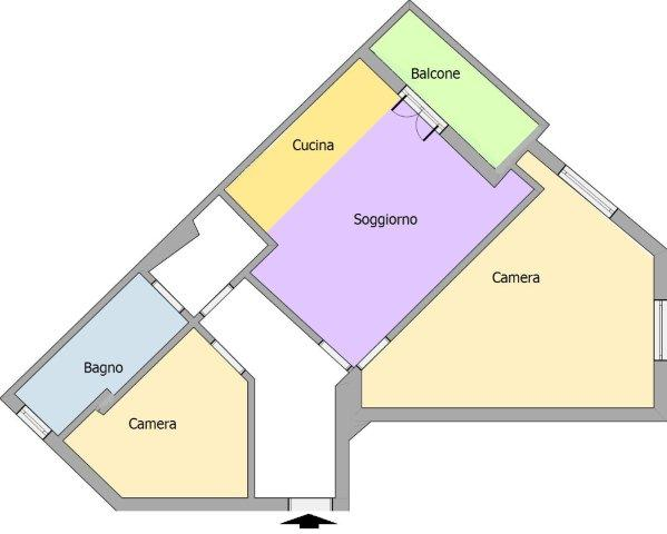 Appartamento a Cinisello Balsamo - 01