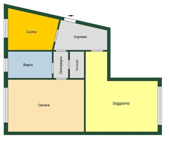 Appartamento Bilocale a Milano - 01