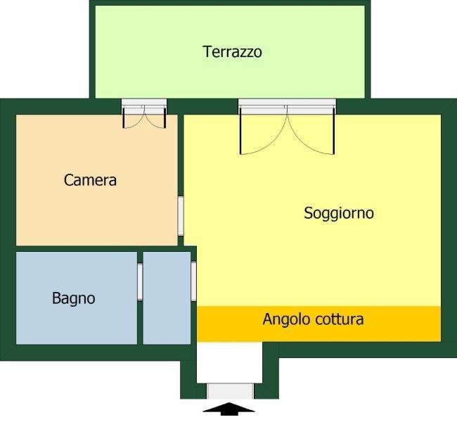 Appartamento Bilocale con terrazzo a Cesano Maderno - 01