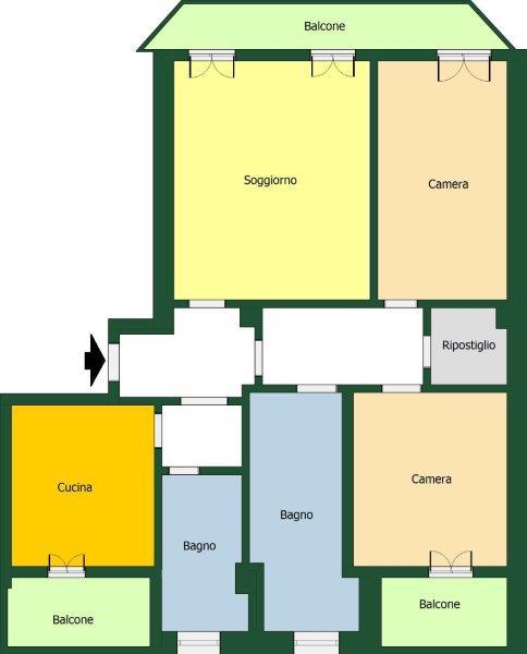 Appartamento da ristrutturare a Seregno - 01