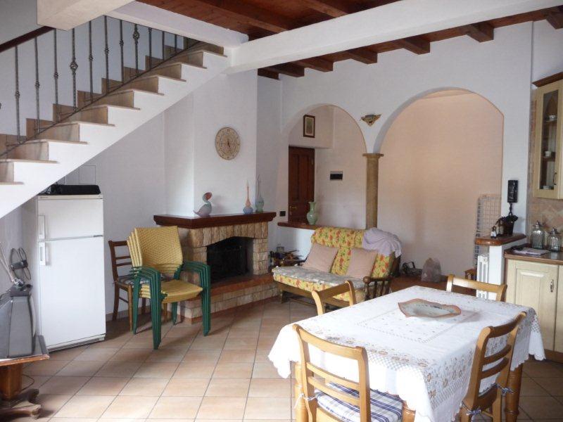Vendesi villa con giardino a Nibionno