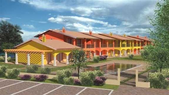 Vende appartamento con giardino a Manerba del Garda - 01
