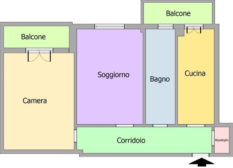 Vendo bilocale a Cinisello Balsamo - 01