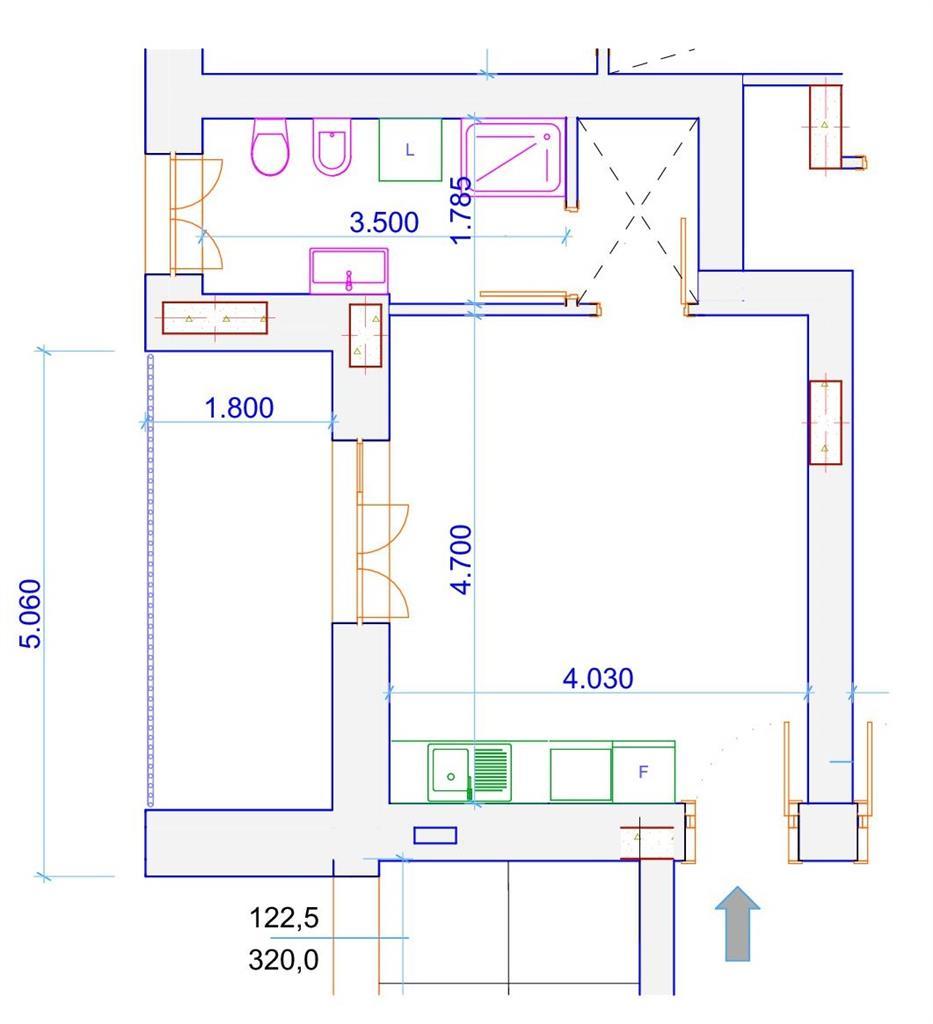Appartamento nuovo, Milano piazza siena